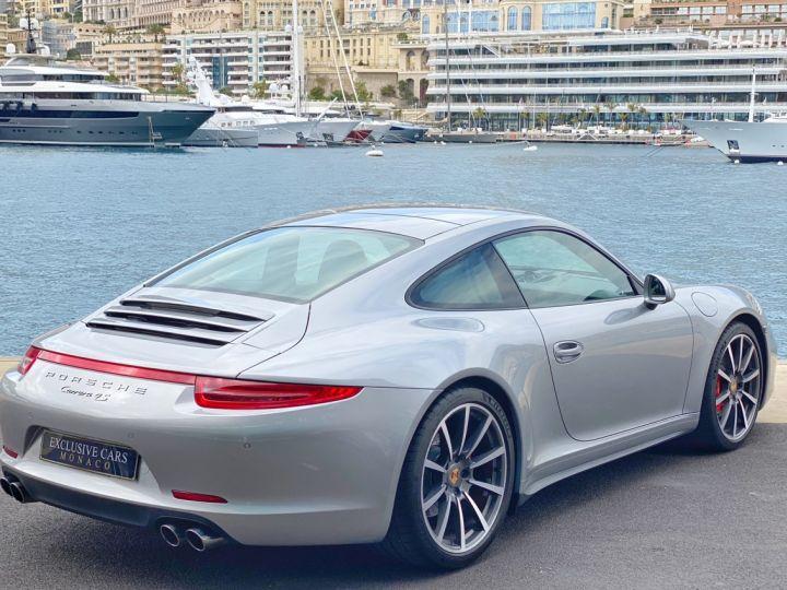Porsche 911 TYPE 991 CARRERA 4S 400 CV PDK - MONACO Argent GT Métal - 3