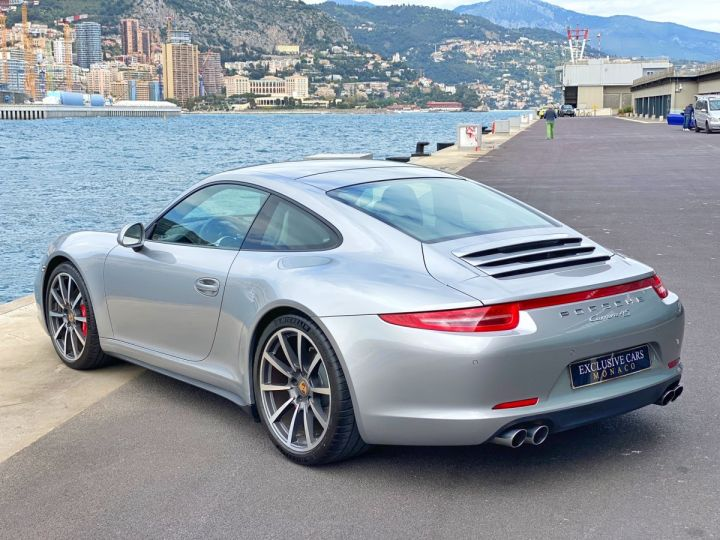 Porsche 911 TYPE 991 CARRERA 4S 400 CV PDK - MONACO Argent GT Métal - 4