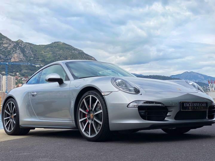 Porsche 911 TYPE 991 CARRERA 4S 400 CV PDK - MONACO Argent GT Métal - 13