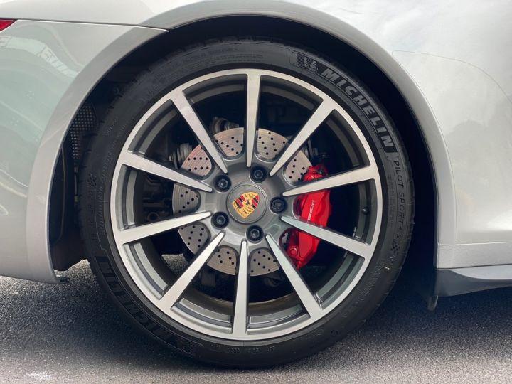 Porsche 911 TYPE 991 CARRERA 4S 400 CV PDK - MONACO Argent GT Métal - 16