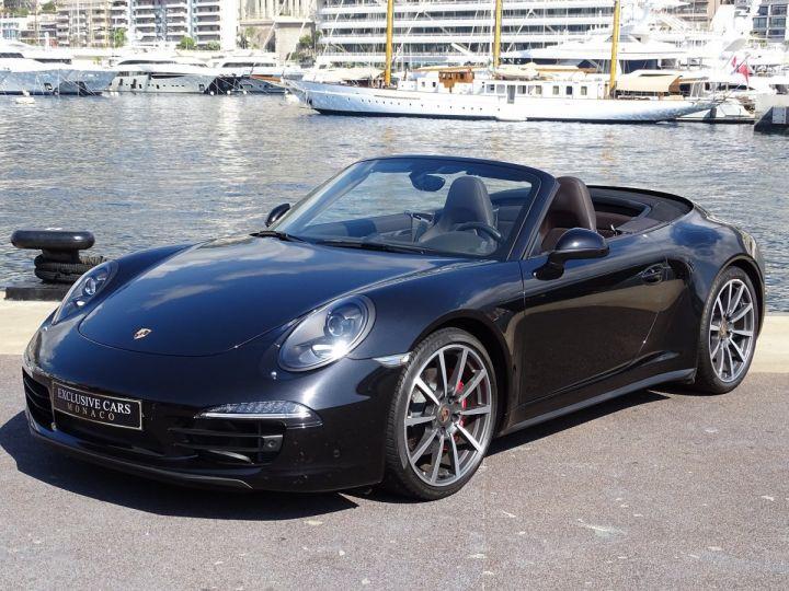 Porsche 911 TYPE 991 CARRERA 4S CABRIOLET PDK 400 CV - MONACO Noir Métal - 1