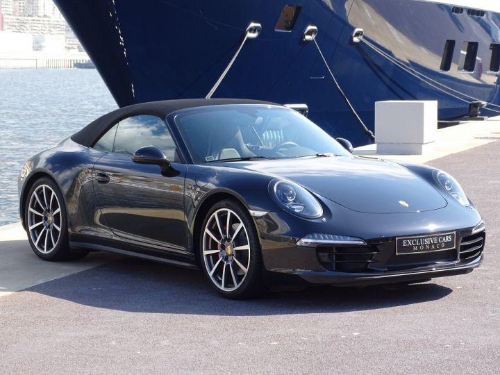 Porsche 911 TYPE 991 CARRERA 4S CABRIOLET PDK 400 CV - MONACO Noir Métal - 4