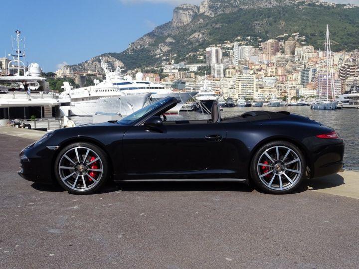 Porsche 911 TYPE 991 CARRERA 4S CABRIOLET PDK 400 CV - MONACO Noir Métal - 5