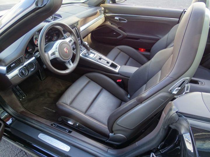 Porsche 911 TYPE 991 CARRERA 4S CABRIOLET PDK 400 CV - MONACO Noir Métal - 6