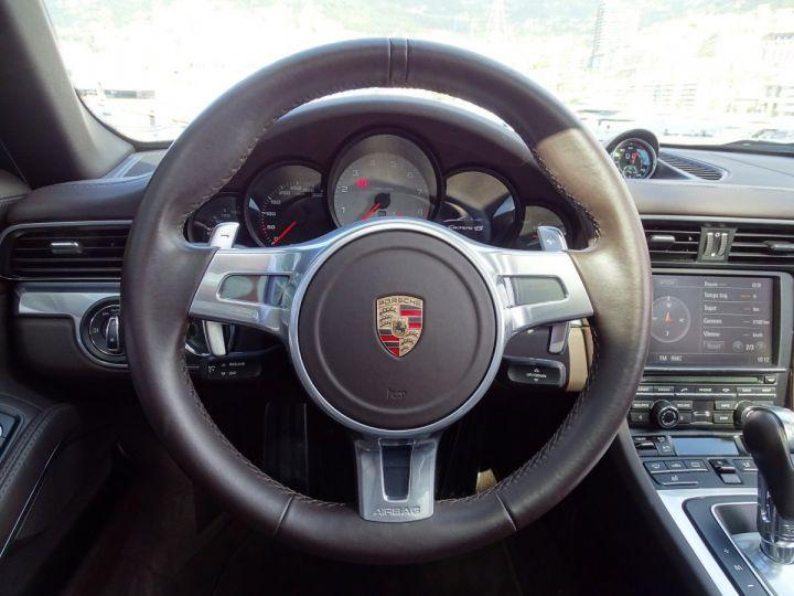 Porsche 911 TYPE 991 CARRERA 4S CABRIOLET PDK 400 CV - MONACO Noir Métal - 11