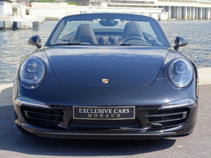 Porsche 911 TYPE 991 CARRERA 4S CABRIOLET PDK 400 CV - MONACO Noir Métal - 12