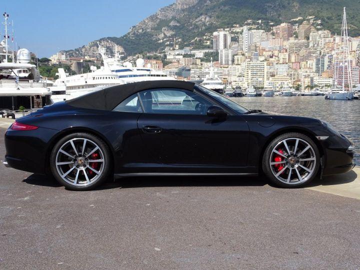 Porsche 911 TYPE 991 CARRERA 4S CABRIOLET PDK 400 CV - MONACO Noir Métal - 14