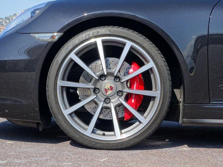 Porsche 911 TYPE 991 CARRERA 4S CABRIOLET PDK 400 CV - MONACO Noir Métal - 15