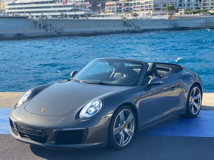 Porsche 911 TYPE 991 CARRERA 4S CABRIOLET PDK 420 CV - MONACO Gris Selenite Metal - 1
