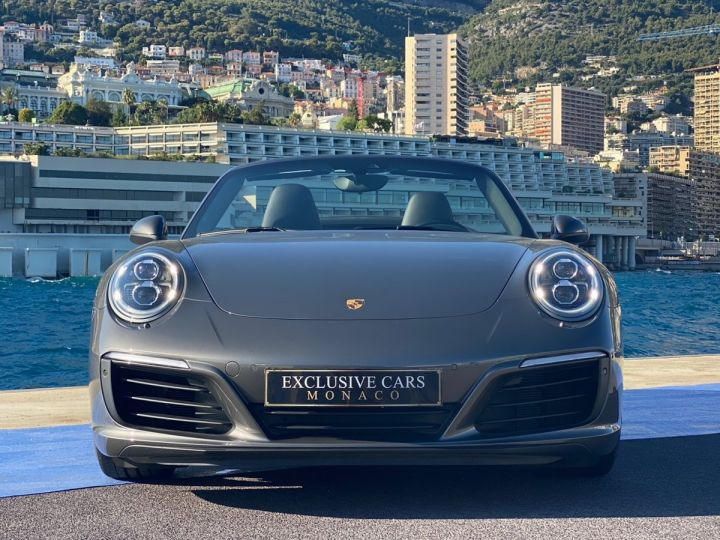 Porsche 911 TYPE 991 CARRERA 4S CABRIOLET PDK 420 CV - MONACO Gris Selenite Metal - 2