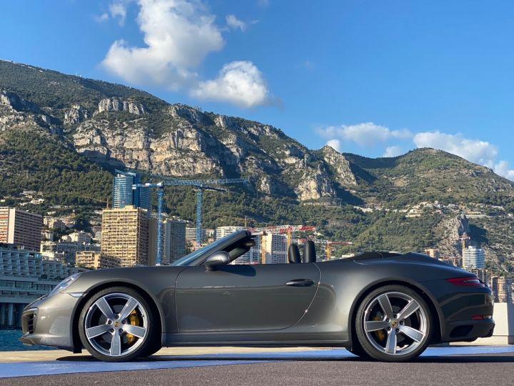 Porsche 911 TYPE 991 CARRERA 4S CABRIOLET PDK 420 CV - MONACO Gris Selenite Metal - 4