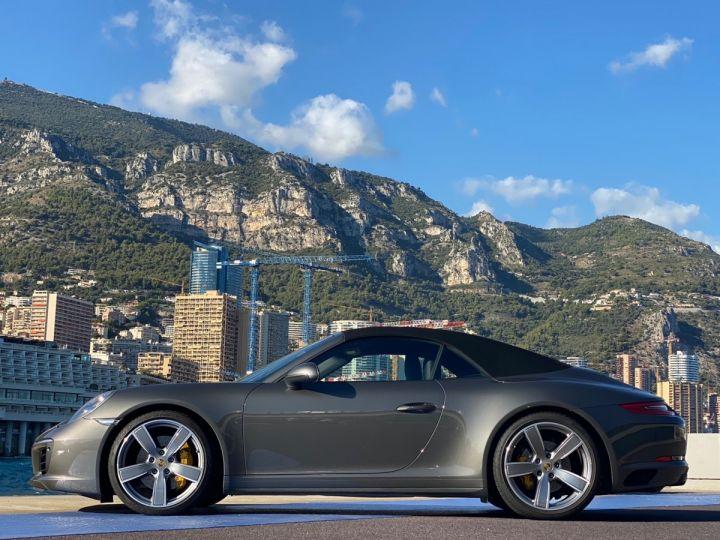 Porsche 911 TYPE 991 CARRERA 4S CABRIOLET PDK 420 CV - MONACO Gris Selenite Metal - 5