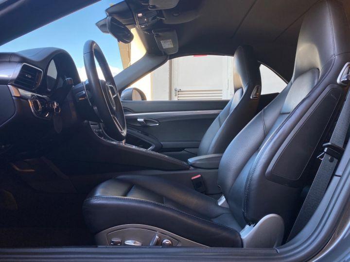 Porsche 911 TYPE 991 CARRERA 4S CABRIOLET PDK 420 CV - MONACO Gris Selenite Metal - 7