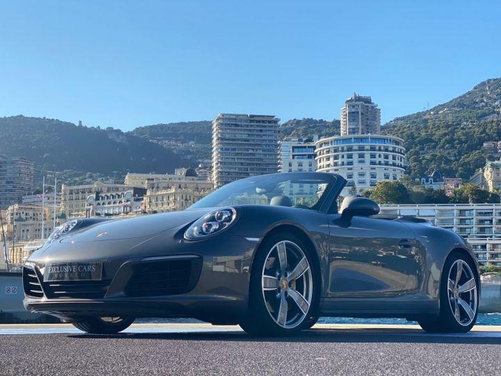 Porsche 911 TYPE 991 CARRERA 4S CABRIOLET PDK 420 CV - MONACO Gris Selenite Metal - 14
