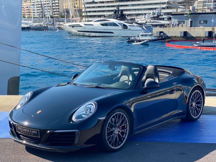 Porsche 911 TYPE 991 CARRERA 4S CABRIOLET PDK 420 CV - MONACO Noir  - 1