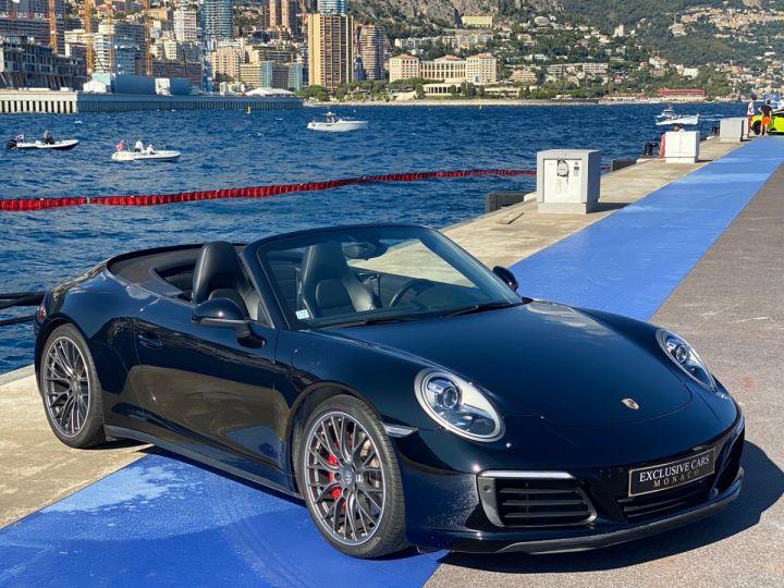 Porsche 911 TYPE 991 CARRERA 4S CABRIOLET PDK 420 CV - MONACO Noir  - 3