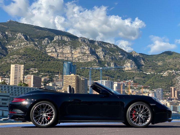 Porsche 911 TYPE 991 CARRERA 4S CABRIOLET PDK 420 CV - MONACO Noir  - 4