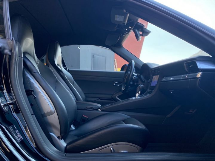 Porsche 911 TYPE 991 CARRERA 4S CABRIOLET PDK 420 CV - MONACO Noir  - 12