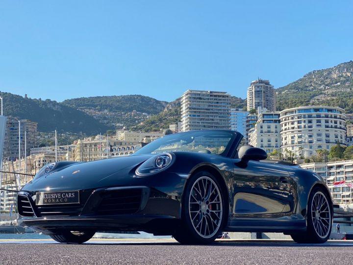 Porsche 911 TYPE 991 CARRERA 4S CABRIOLET PDK 420 CV - MONACO Noir  - 17