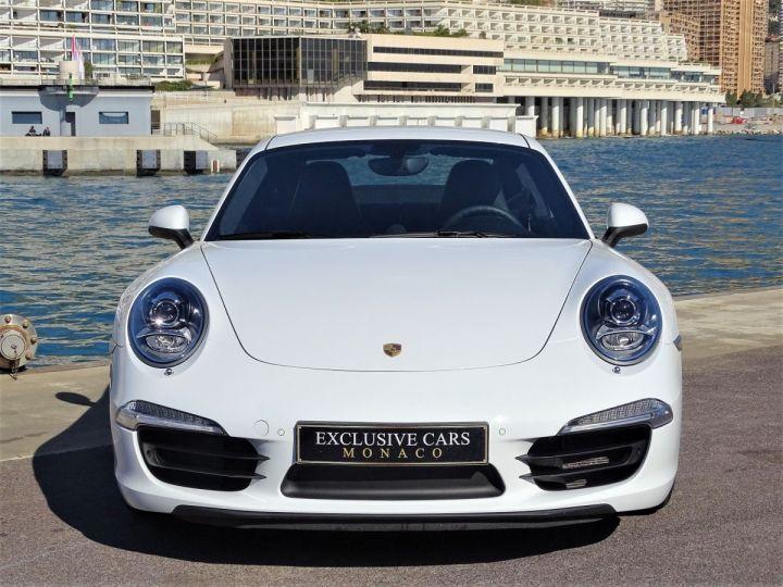 Porsche 911 TYPE 991 CARRERA 4S PDK 400 CV - MONACO Blanc  - 2