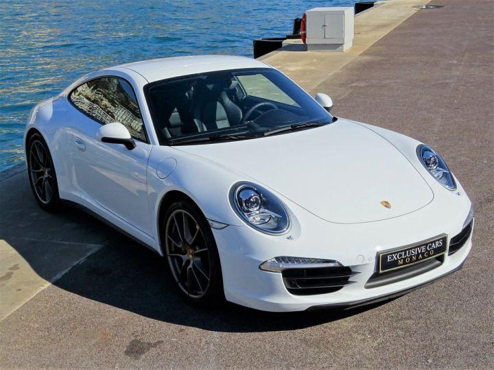 Porsche 911 TYPE 991 CARRERA 4S PDK 400 CV - MONACO Blanc  - 3