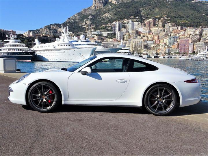 Porsche 911 TYPE 991 CARRERA 4S PDK 400 CV - MONACO Blanc  - 16