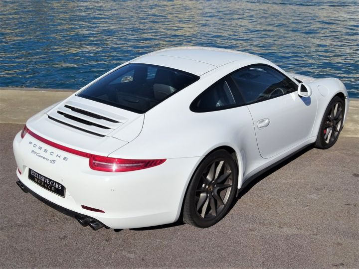 Porsche 911 TYPE 991 CARRERA 4S PDK 400 CV - MONACO Blanc  - 18