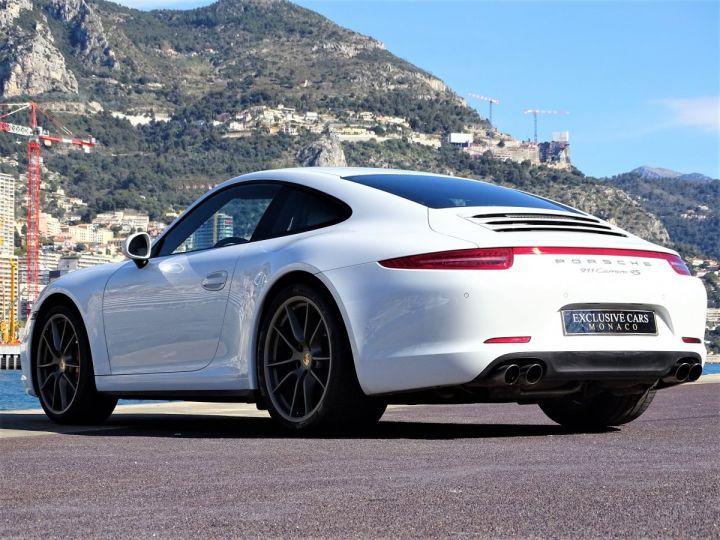 Porsche 911 TYPE 991 CARRERA 4S PDK 400 CV - MONACO Blanc  - 19