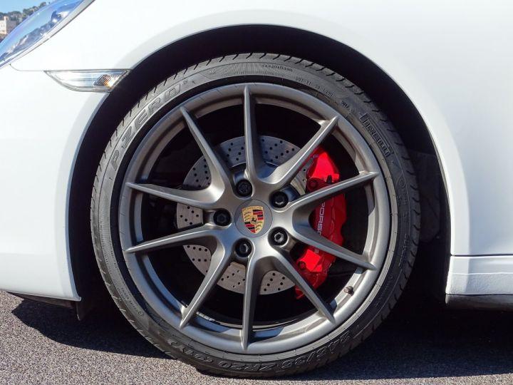 Porsche 911 TYPE 991 CARRERA 4S PDK 400 CV - MONACO Blanc  - 21