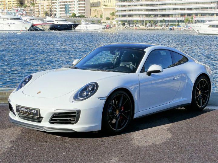 Porsche 911 TYPE 991 CARRERA 4S PDK 420 CV - MONACO Blanc  - 1