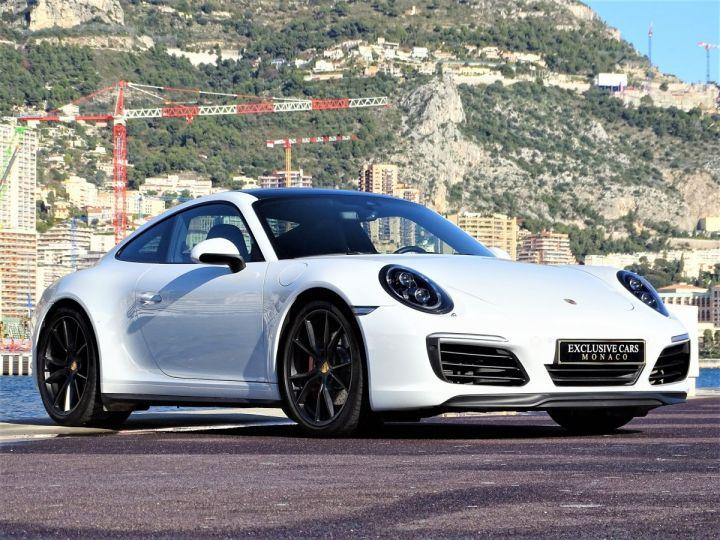 Porsche 911 TYPE 991 CARRERA 4S PDK 420 CV - MONACO Blanc  - 17