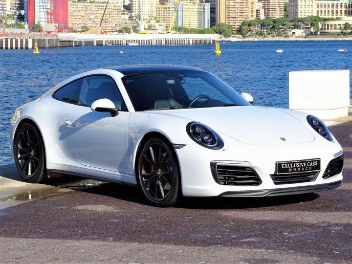 Porsche 911 TYPE 991 CARRERA 4S PDK 420 CV - MONACO Blanc - 2