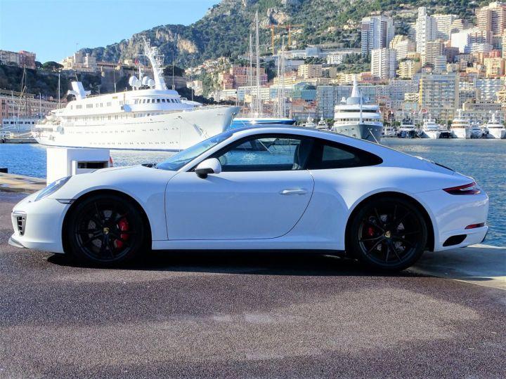 Porsche 911 TYPE 991 CARRERA 4S PDK 420 CV - MONACO Blanc - 5