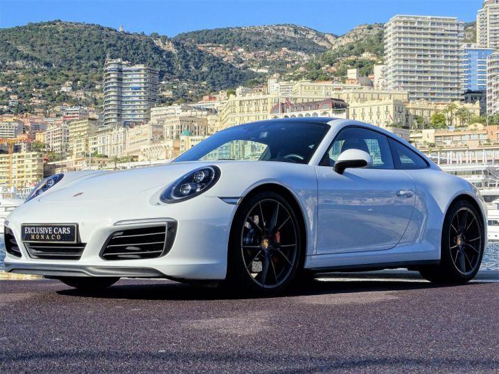 Porsche 911 TYPE 991 CARRERA 4S PDK 420 CV - MONACO Blanc - 11