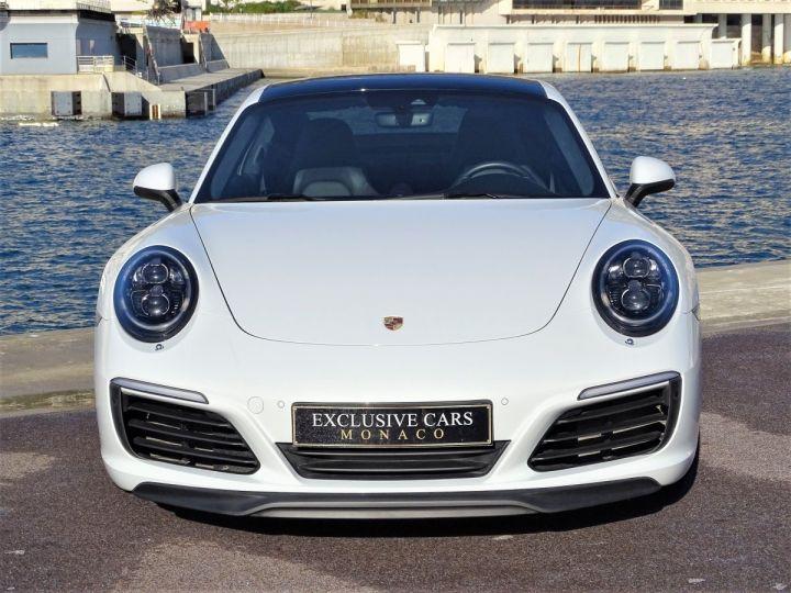 Porsche 911 TYPE 991 CARRERA 4S PDK 420 CV - MONACO Blanc - 12