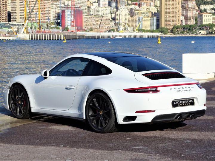 Porsche 911 TYPE 991 CARRERA 4S PDK 420 CV - MONACO Blanc - 16