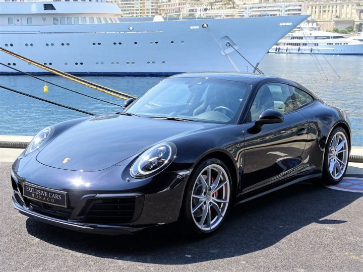 Porsche 911 TYPE 991 CARRERA  4S PDK 420 CV - MONACO Noir Métal - 1