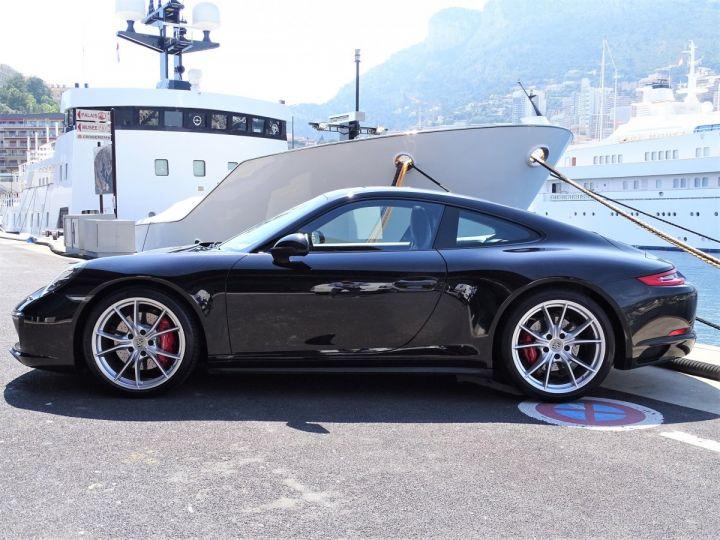 Porsche 911 TYPE 991 CARRERA  4S PDK 420 CV - MONACO Noir Métal - 3