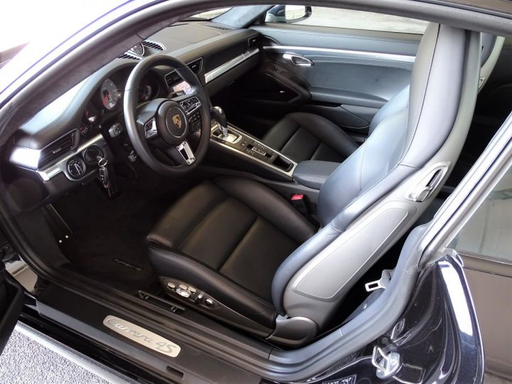 Porsche 911 TYPE 991 CARRERA  4S PDK 420 CV - MONACO Noir Métal - 6