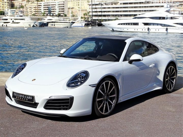 Porsche 911 TYPE 991 CARRERA 4S PDK 420 CV - MONACO Blanc Métal - 1