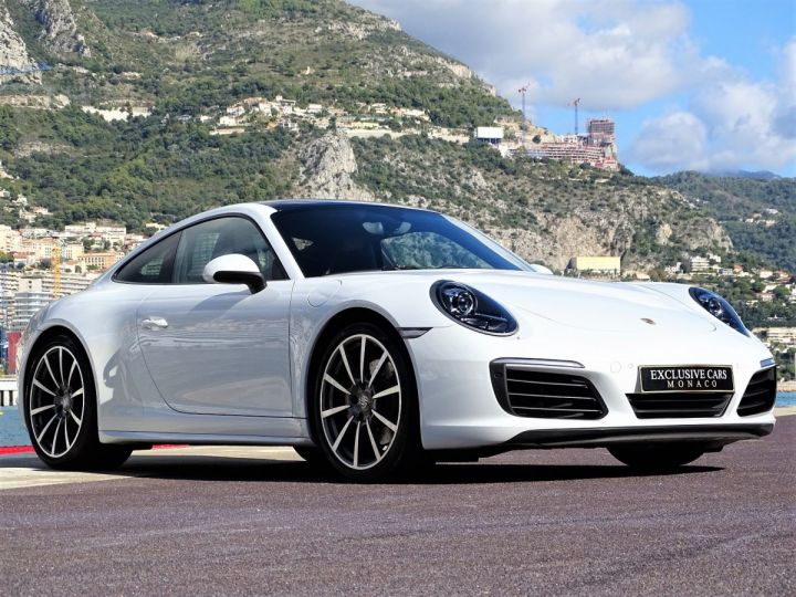 Porsche 911 TYPE 991 CARRERA 4S PDK 420 CV - MONACO Blanc Métal - 3