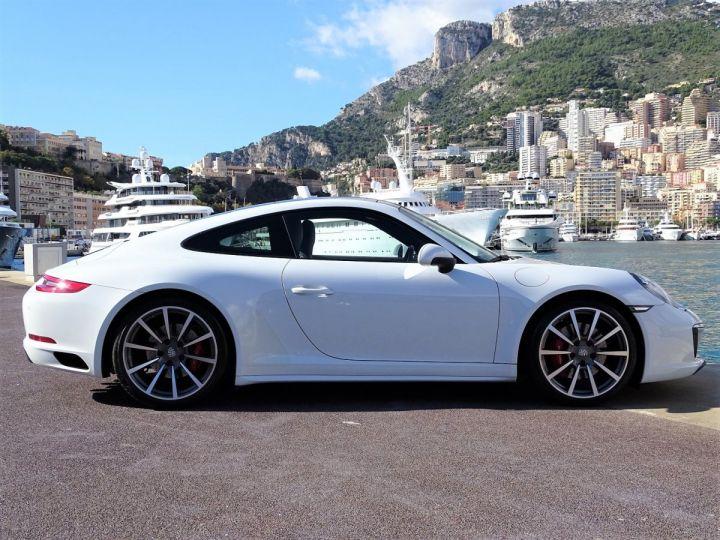 Porsche 911 TYPE 991 CARRERA 4S PDK 420 CV - MONACO Blanc Métal - 4