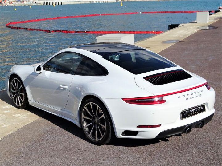 Porsche 911 TYPE 991 CARRERA 4S PDK 420 CV - MONACO Blanc Métal - 7
