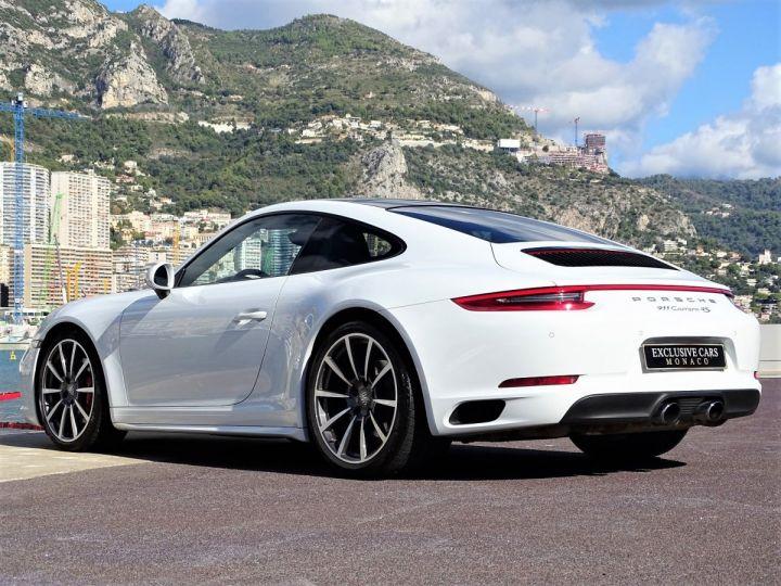 Porsche 911 TYPE 991 CARRERA 4S PDK 420 CV - MONACO Blanc Métal - 18
