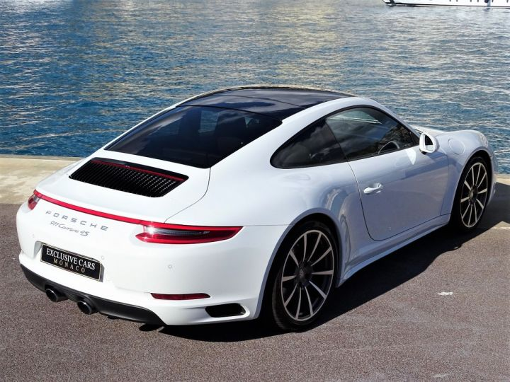 Porsche 911 TYPE 991 CARRERA 4S PDK 420 CV - MONACO Blanc Métal - 19
