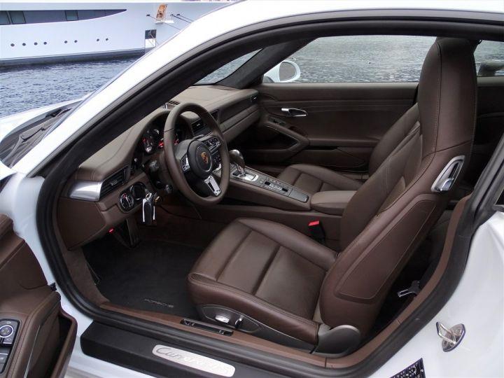 Porsche 911 TYPE 991 CARRERA 4S PDK 420 CV - MONACO Blanc Métal - 8