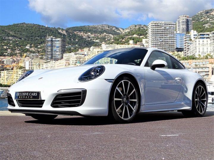 Porsche 911 TYPE 991 CARRERA 4S PDK 420 CV - MONACO Blanc Métal - 20