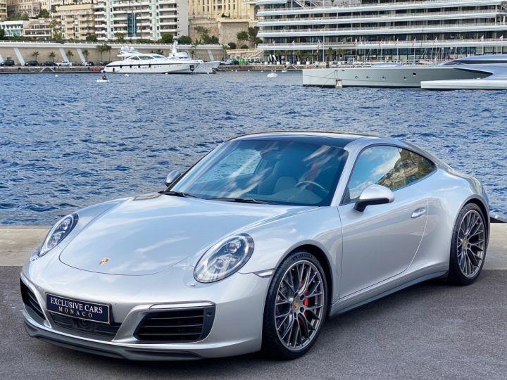 Porsche 911 TYPE 991 CARRERA 4S PDK 420 CV - MONACO Argent GT Métal  - 1
