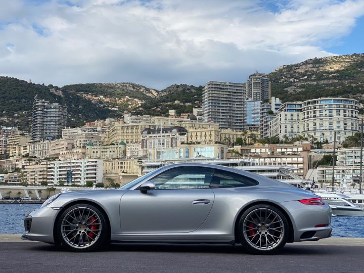 Porsche 911 TYPE 991 CARRERA 4S PDK 420 CV - MONACO Argent GT Métal  - 4