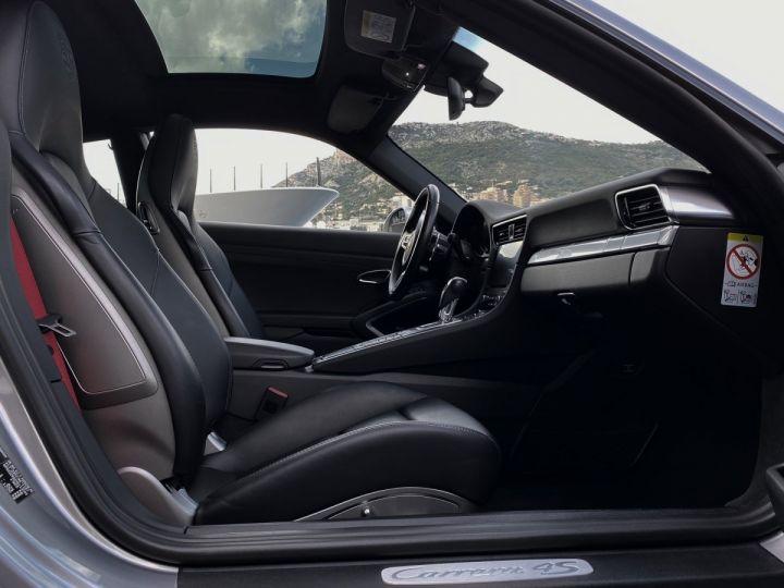 Porsche 911 TYPE 991 CARRERA 4S PDK 420 CV - MONACO Argent GT Métal  - 11